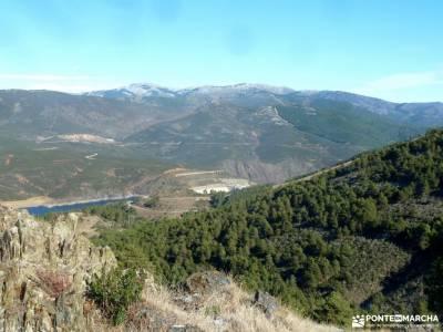 Cancho de la Cabeza-Patones; mochilas montaña clubs madrid cartagena murcia playas pueblos de toled